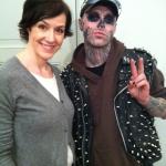 mit Rick Genest alias Zombieboy