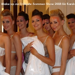 Backstage Fashionshow
