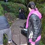 Backstage Fashionshoot Drachenschlucht