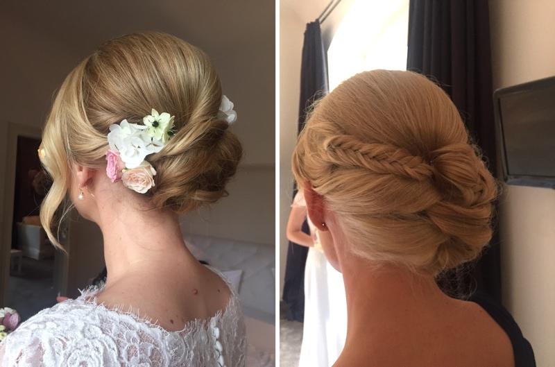 Typgerechte Brautstylings, Brautfrisuren, Bridal Styles from Anja Frankenhäuser.