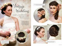 Meine Brautfrisur – Vintage Wedding