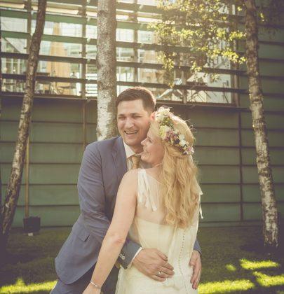 Brautstyling für Franzi