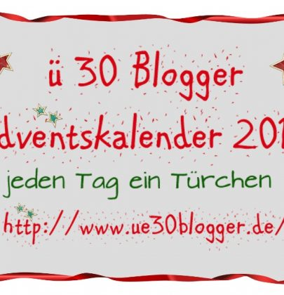 Ü30 Blogger Verlosung, Part II