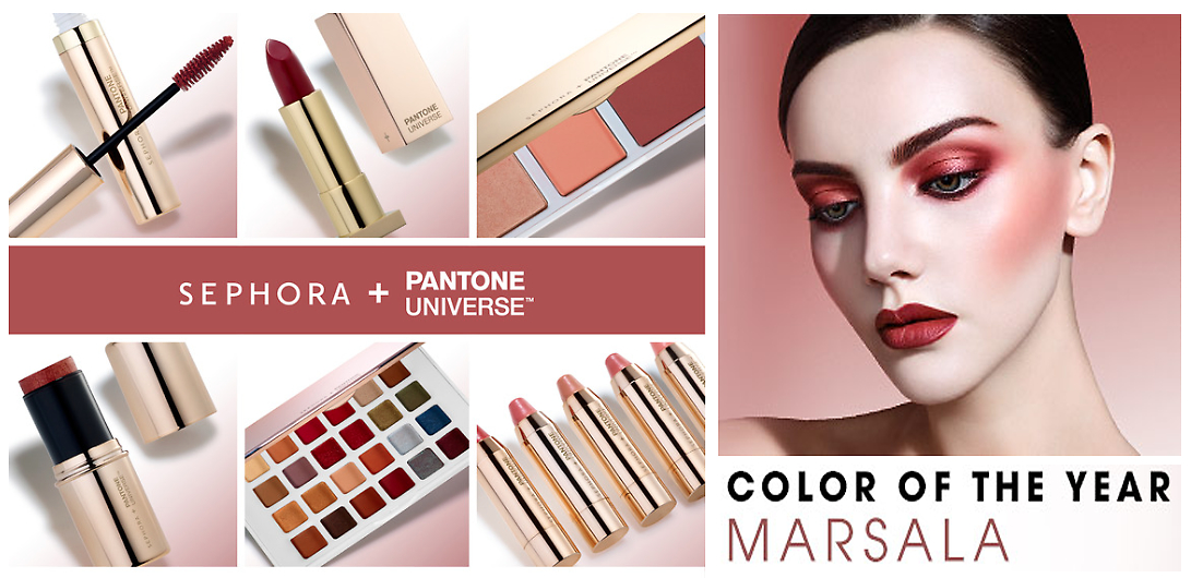 2015: Makeup Tricks Color Marsala