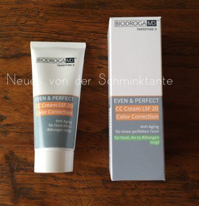 Biodroga MD: Even & Perfect CC-Cream SPF 15 (20?)