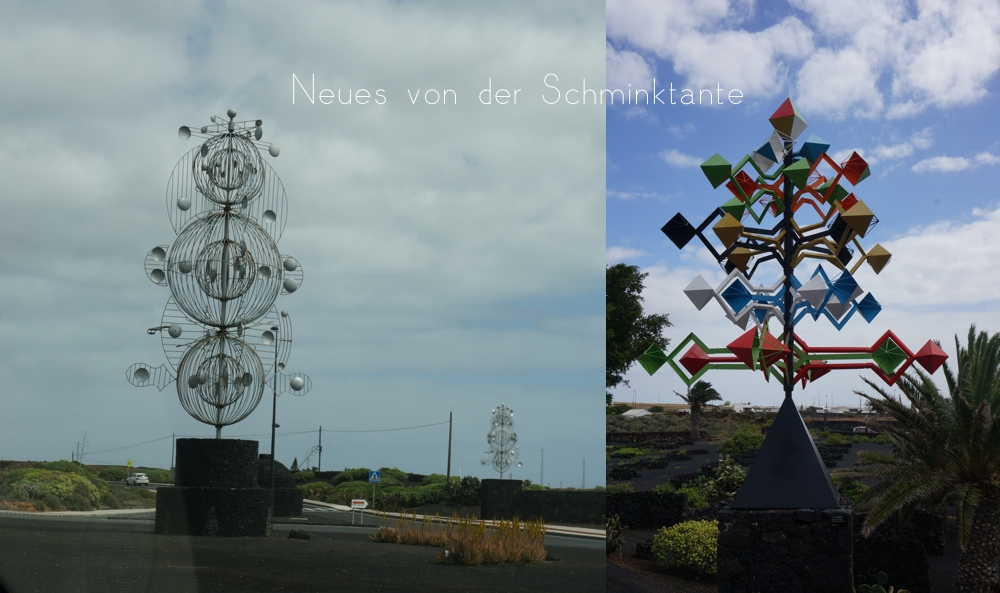 Windspiele, Cesar Manrique, Lanzarote, Reisen, Reise, Travel, unterwegs, Kanarische Inseln, Meer, Ozean, Atlantik, Schminktante, kanaren, Spanien, Urlaub, Travelguide
