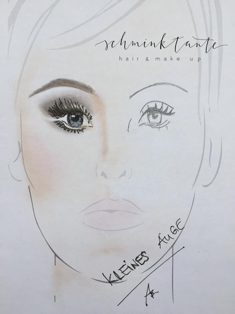 Brillen Make up, weitsichtig, Anja Frankenhäuser, Make up Artist