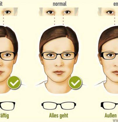 Alles eine Frage der Form: Wem steht welche Brille?