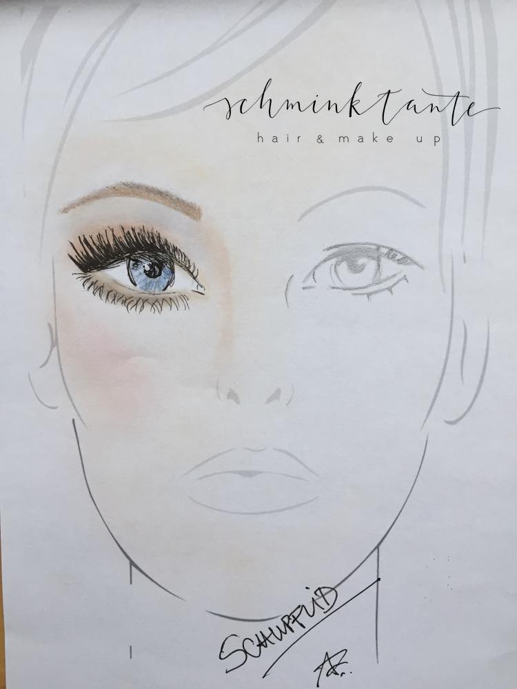 Schlupflid, Brillen Make up, weitsichtig, Schlupflid, Brillenmakeup, Anja Frankenhäuser, Make up Artist
