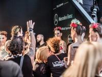 Backstage auf der Berlin Fashionweek