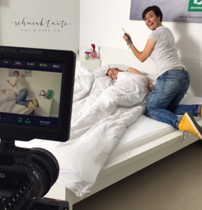"""Making of zum Videodreh """"Schuhe"""""""