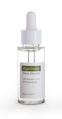 Face Serum, HighDroxy, Mandelsäure, Exfoliation, peeling, hauerneuerung, Hautbild verbessern, Unreinheiten, Haut beruhigen, Schminktante, Anti Aging, Beauty, Beautyblog
