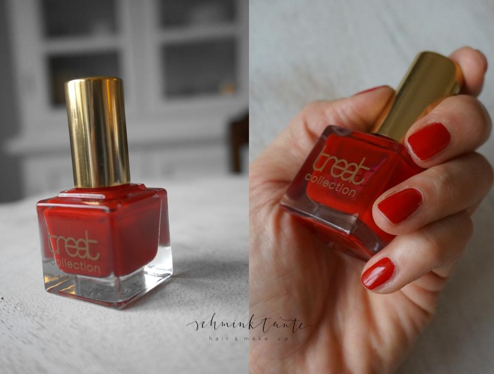 Das absolute Rot! Red Carpet Nagellack von Treat Collection