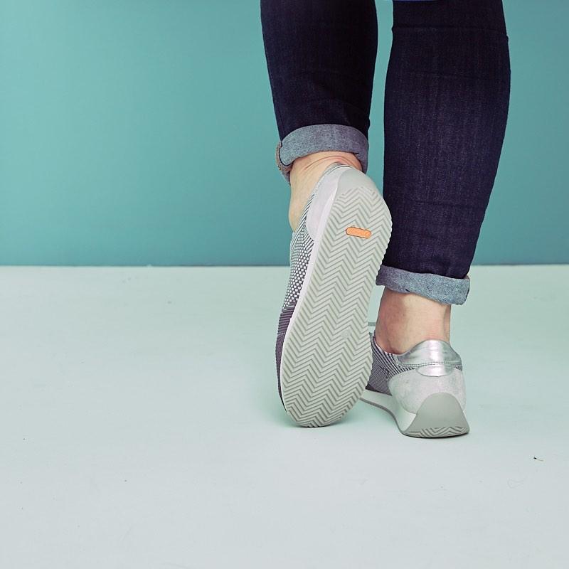Neue Schuhe von ara Shoes, Rückansicht.
