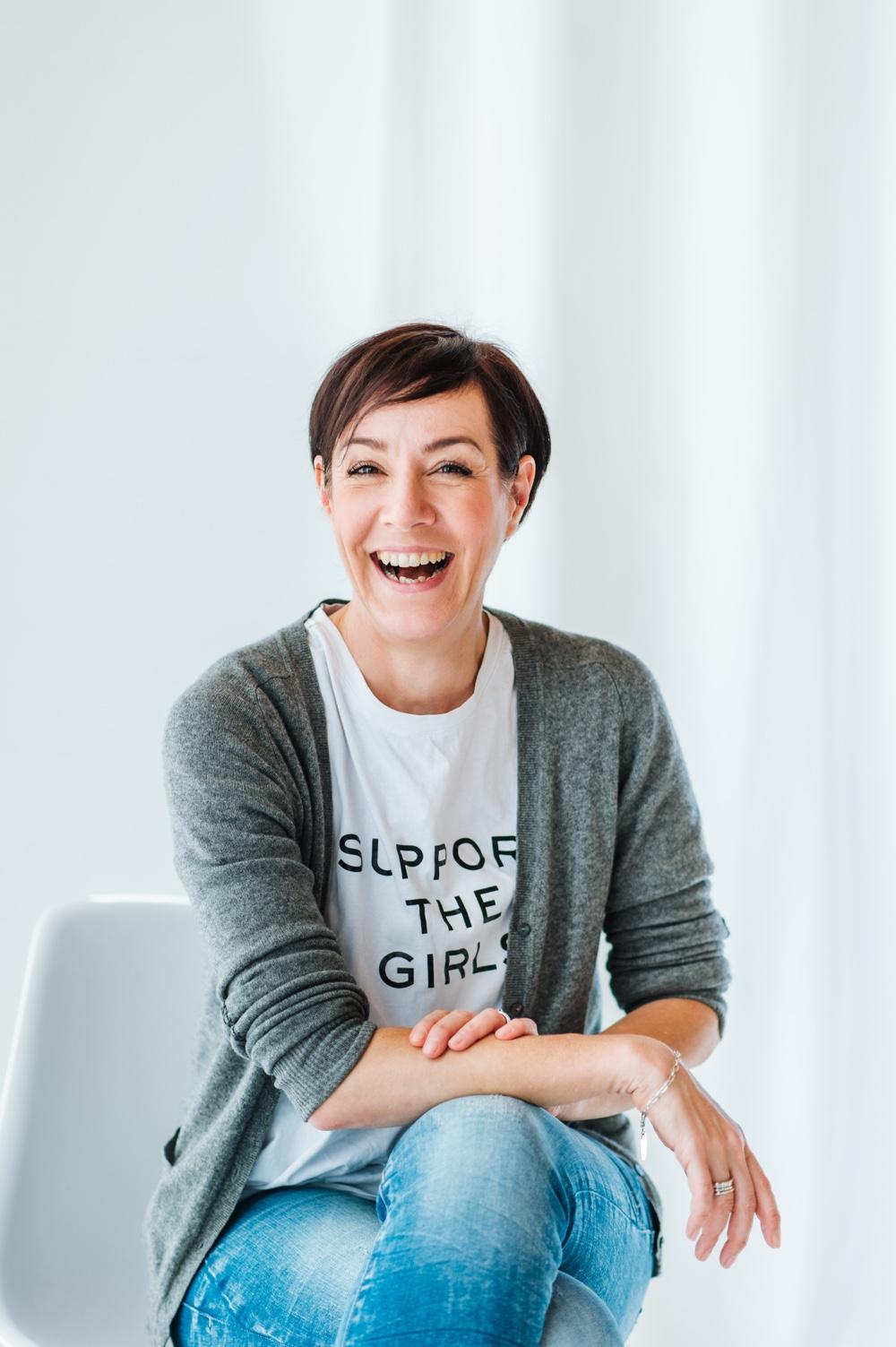 Make up Artist aus Leidenschaft: Schminktante Anja Frankenhäuser.