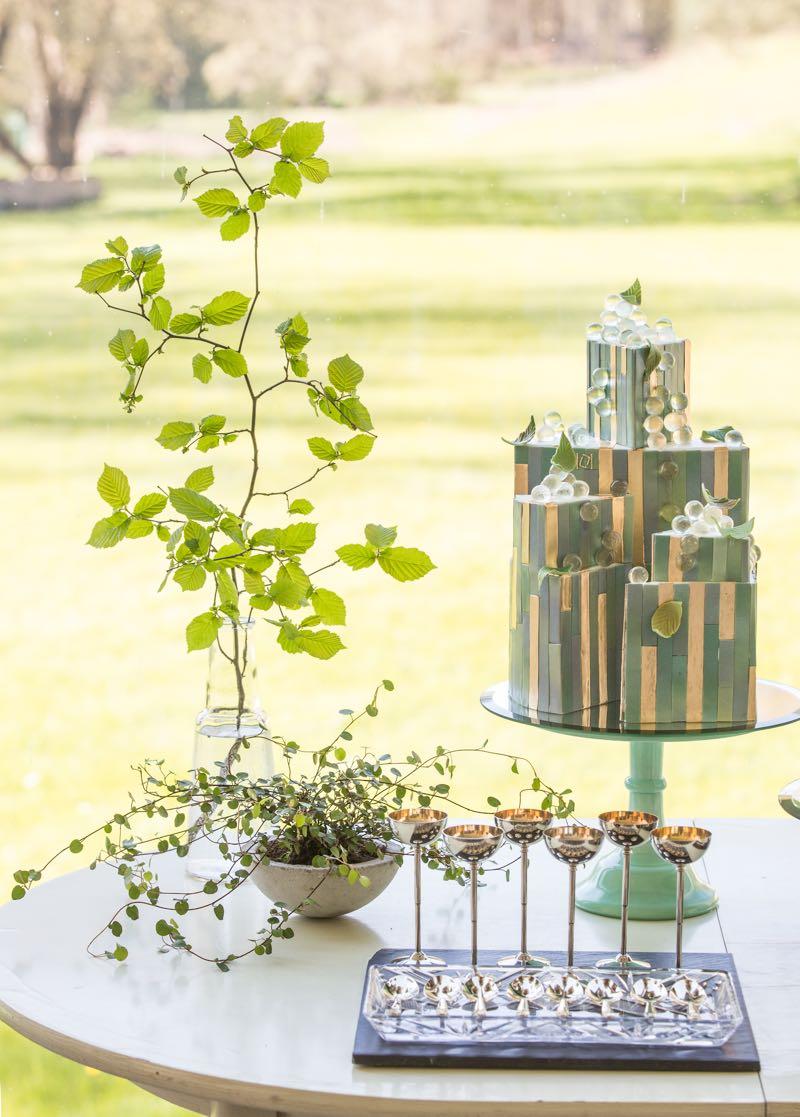 Hochzeitstorten in modernem Design von Kristiane Kegelmann.
