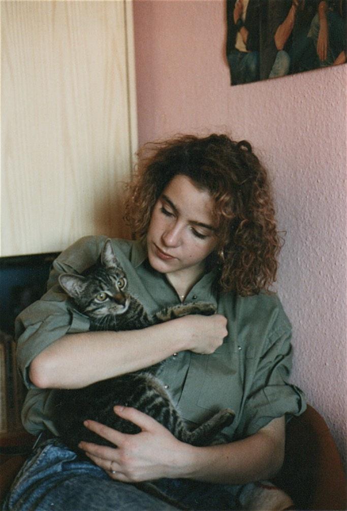 Katze, früher, 9. November, Mauerfall, 1989, Wende, DDR, Schminktante, Anja Frankenhäuser