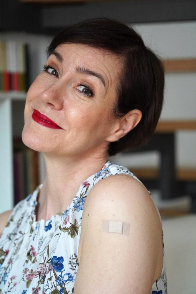 Monatsrückblick, Mai, 2021, Portrait, Schminktante, Anja Frankenhäuser, Impfung, Beautyblog, Top-Blog Deutschland