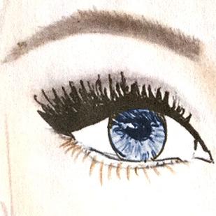 Lidschattenfarbe, blaue Augen, Lidschatten, Augenfarbe, Schminktipps, Schminken, Make up, Schminktante, Anja Frankenhäuser, Make up Artist, Top-Beautyblog