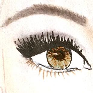 Lidschattenfarbe, braune Augen, Lidschatten, Augenfarbe, Schminktipps, Schminken, Make up, Schminktante, Anja Frankenhäuser, Make up Artist, Top-Beautyblog