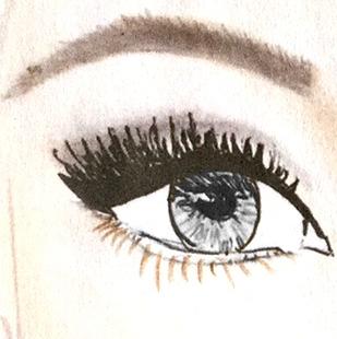 Lidschattenfarbe, graue Augen, Lidschatten, Augenfarbe, Schminktipps, Schminken, Make up, Schminktante, Anja Frankenhäuser, Make up Artist, Top-Beautyblog