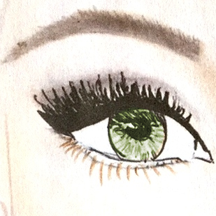 Lidschattenfarbe, grüne Augen, Lidschatten, Augenfarbe, Schminktipps, Schminken, Make up, Schminktante, Anja Frankenhäuser, Make up Artist, Top-Beautyblog