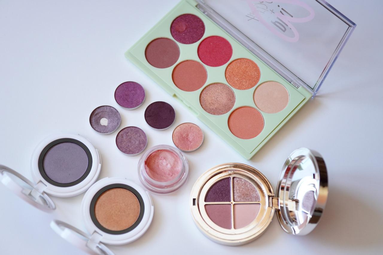 Augen, Make up, Violett, Apricot, Schminktipps, Make up Tutorial, Schminkanleitung, Schminktante, Anja Frankenhäuser, Lidschatten