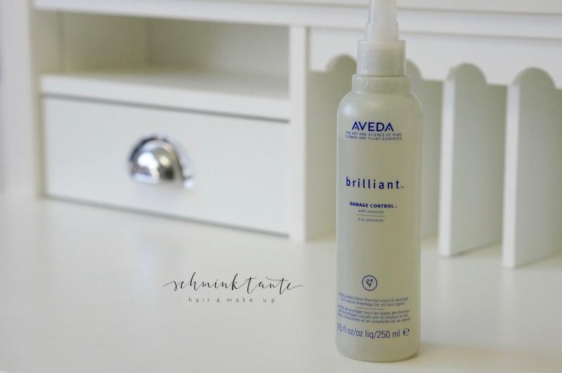 Aveda Hitzeschutzspray auf dem Beautymarkt der Schminktante.