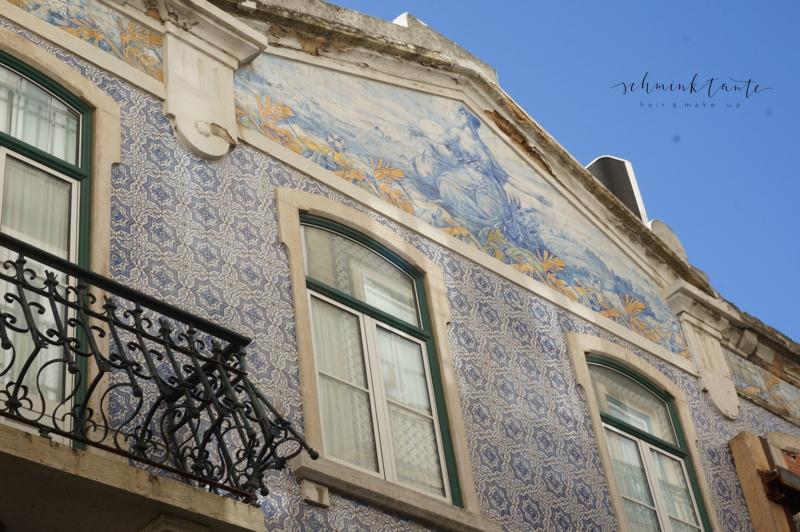 Azulejos, Kacheln, Fassade, Muster, Haus, Handwerk, Lisboa, Portugal, Lissabon, Reise, Reisetipps, Reisen, Travel, Schminktante