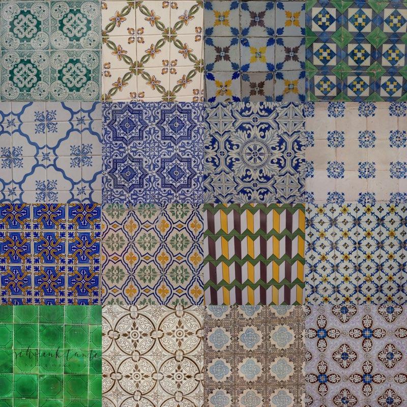 Azulejos, Muster, Kacheln, Fliesen, unterwegs, Schminktante, bunt, Portugal, Lissabon, Reise, Reisetipps, Reisen, Travel