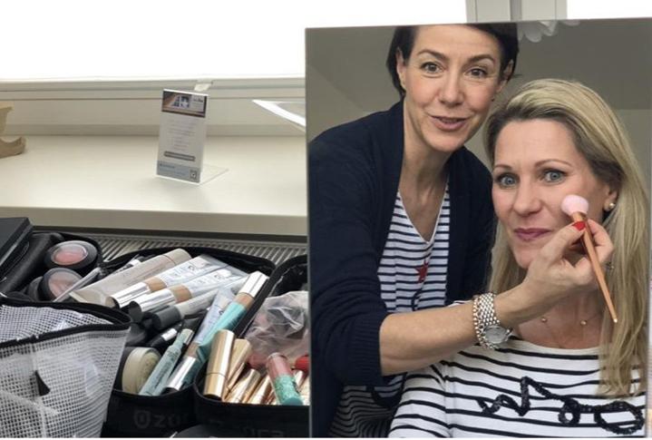 Beautycoaching mit Bloggerkollegin Stephie, die sich mit einem ganz wunderbaren Beitrag für diese Reise bedankt hat *love* - Danke für das schöne Foto liebe Barbara!