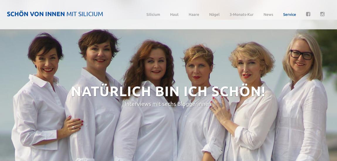 Schönheit von Innen: Die Beautykampagne von Silicea mit den Lady.Bloogers