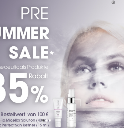 Pre Summer Sale bei Teoxane