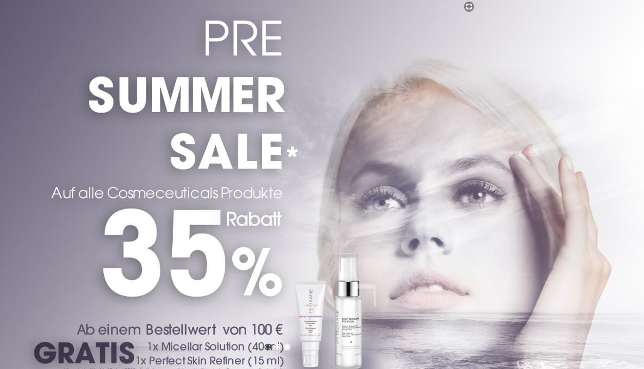 35% sparen beim Beautyeinkauf mit Teoxane.