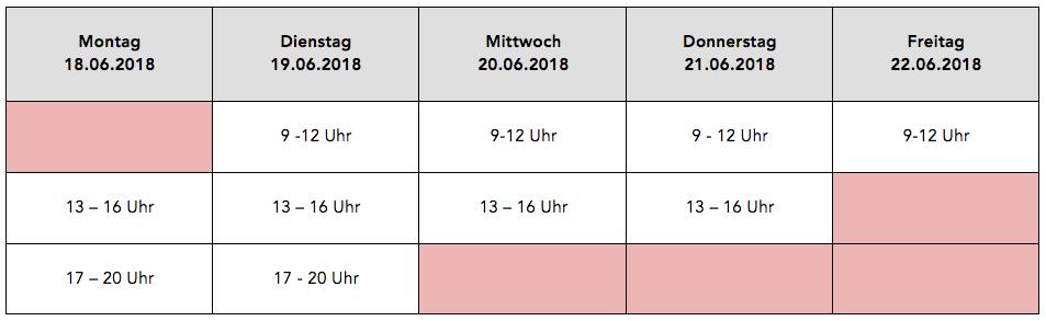 Die Schminktante kommt nach Leipzig auf Beautycoachingtour. Bucht jetzt Eure Termine für Juni 2018.