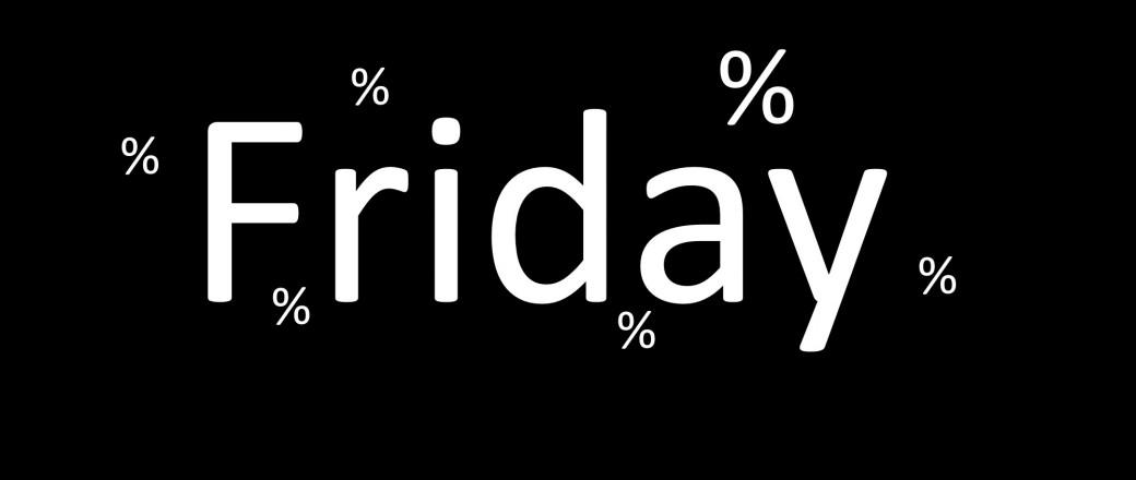 HEUTE: Black & Green & Friday