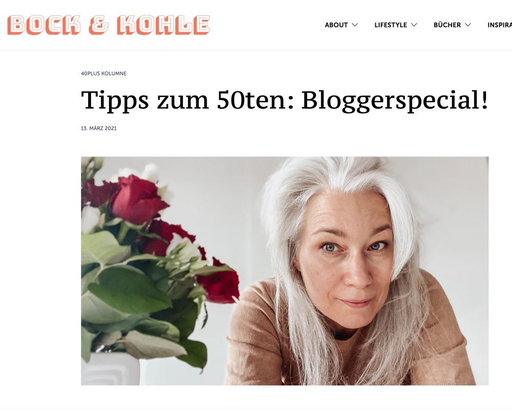 Monatsrückblick, März, 2021, Bock und Kohle, Interview, Schminktante, Anja Frankenhäuser