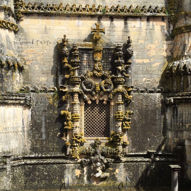 Convento de Cristo, Templer, Tomar, Burg, Castell, Mauern, Schloss, Portugal, Innenhof, Bögen, Steine, Portugal, Reisen, Travel, Reise, Game of Thrones, Schminktante