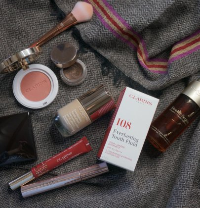 Make up Tutorial: Herbstlook mit Clarins' Everlasting Youth Fluid