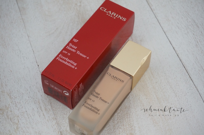 Langhaltendes Make up von Clarins.