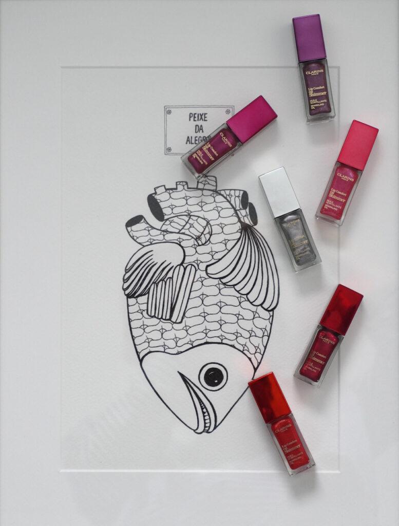 Clarins, Lippenöl, Lipgloss, Schimmer, Lippenfarbe, Lippenpflege, Schminktante, Anja Frankenhäuser, Beautyblog, Top-Blog
