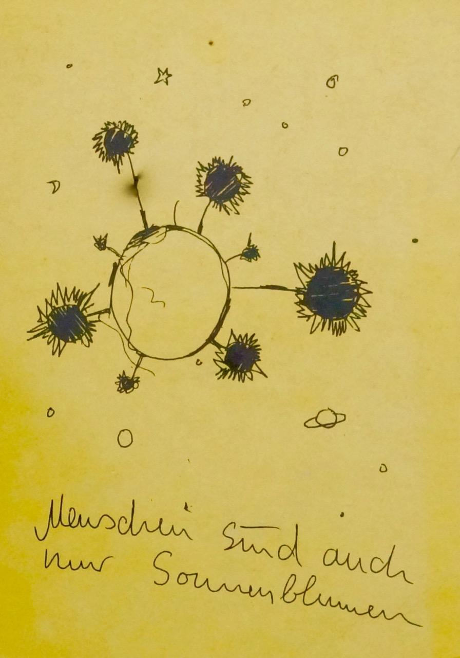 Menschen sind auch nur Sonnenblumen - das Review zur neuen Sonnencreme+ von Beyer & Söhne im Blog der Schminktante.
