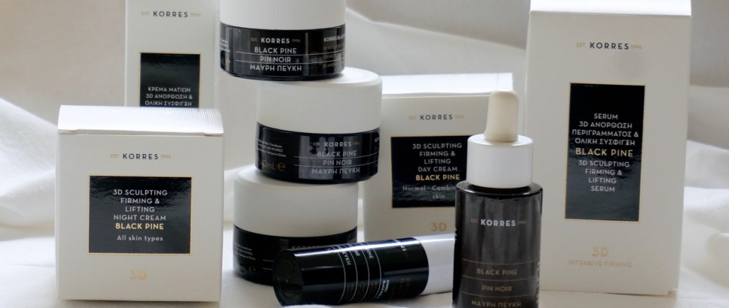 Anti Aging für mehr Leuchtkraft: Korres – Black Pine & Black Pine Color