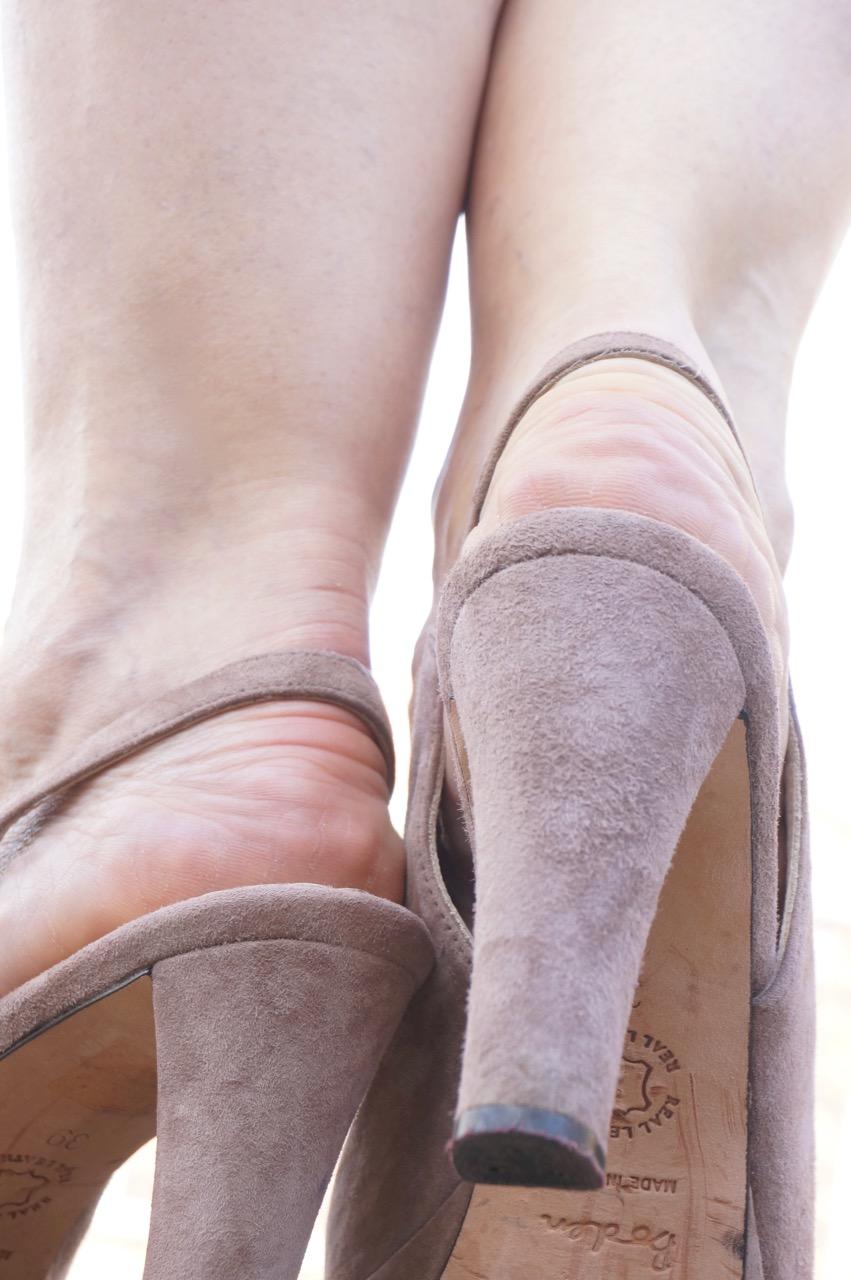 So macht ihr euer Füße sommerfit.