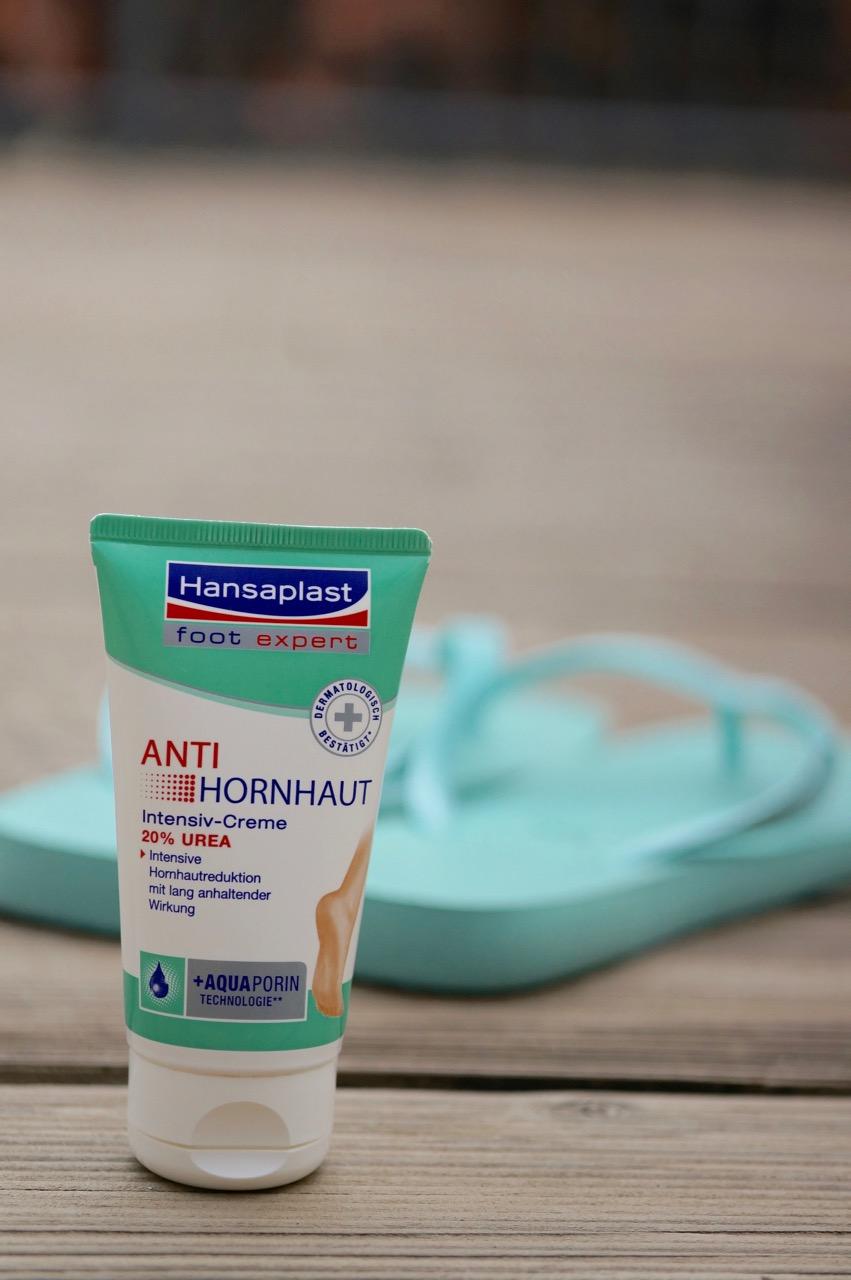 Hansaplast Anti Hornhaut Creme für gepflegte Füße ohne Hornhaut.