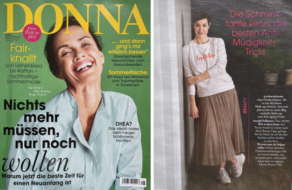 Donna, Magazin, Monatsrückblick, Beautynews, Juli, 2021, Hautpflege, Haarpflege, Schminktante, Beautyblogger, Top-Bloggerin, Anja Frankenhäuser, Top-Influencerin