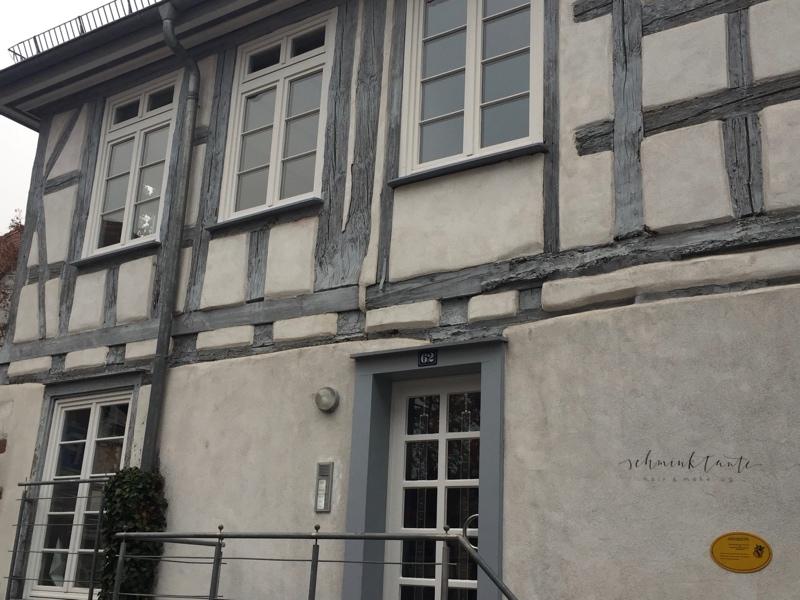 Fachwerk in Karlsruhe-Durlach.