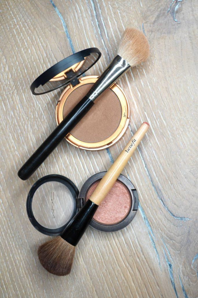 Make up, Tutorial, Schminkanleitung, Schminktipps, Schminktante, Anja Frankenhäuser, Puder, Rouge, Bronzer