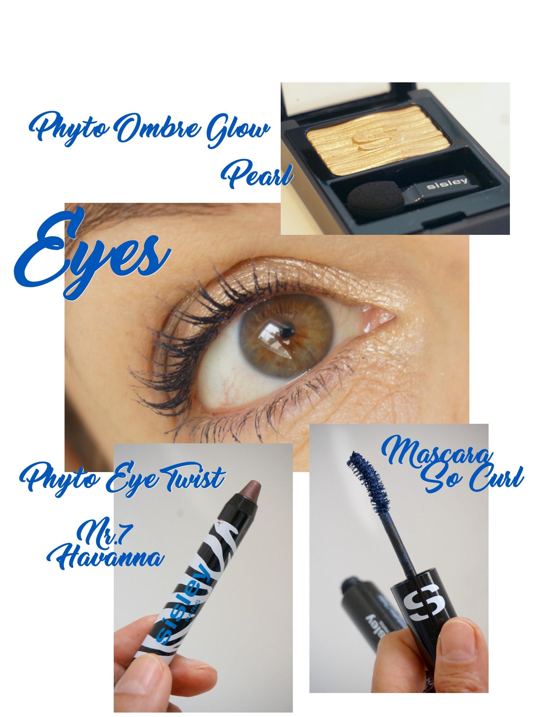 Alle Augen-Make up-Produkte aus dem Sommerlook von Sisley 2017 im Blog der Schminktante.