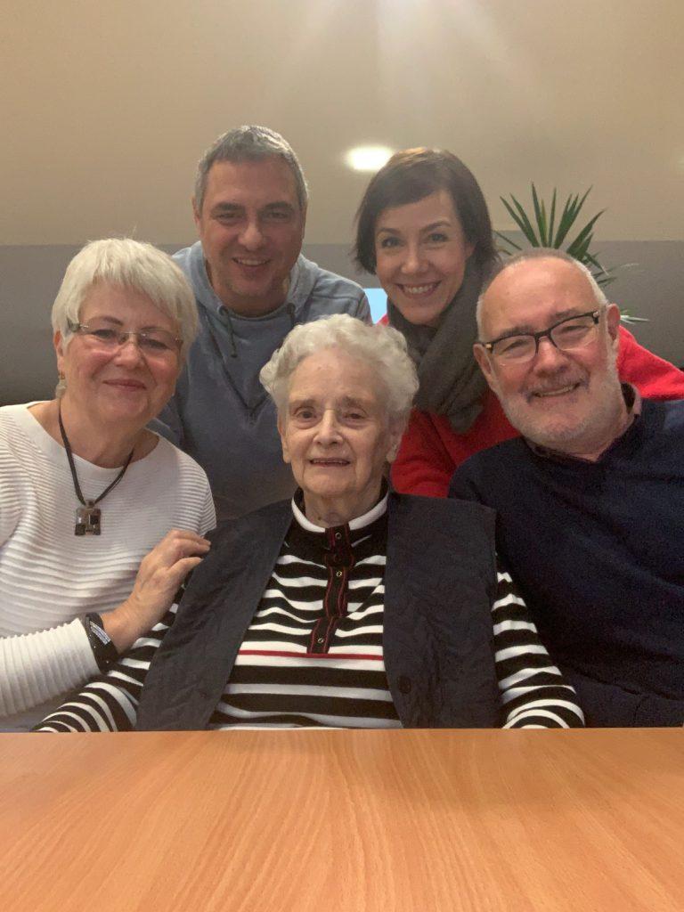 Familie, Omi, Geburtstag, 94, alle zusammen, Schminktante, Anja Frankenhäuser